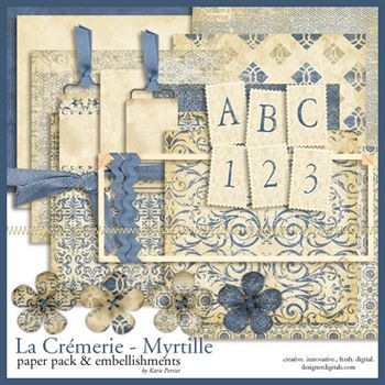 La Cremerie Myrtille Kit