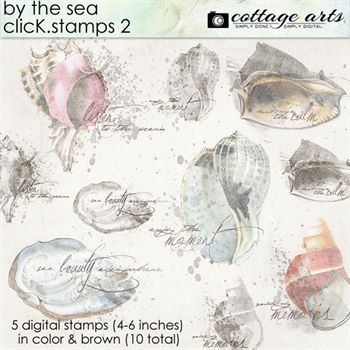 By The Sea Click.stamps 2