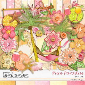 Pure Paradise Scrap Kit