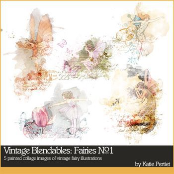 Vintage Blendables Fairies No. 01