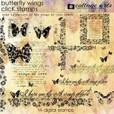 Butterfly Wings Click.stamps