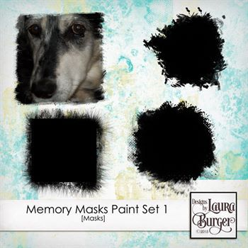 Memory Masks Painted Set 1