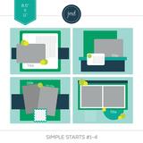 Simple Starts #1-4 (11x8.5)