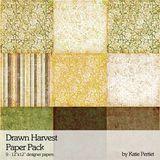 Drawn Harvest Paper Pack
