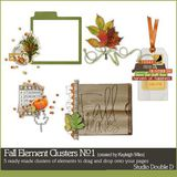 Fall Element Clusters No. 01