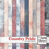Country Pride Grunge Papers