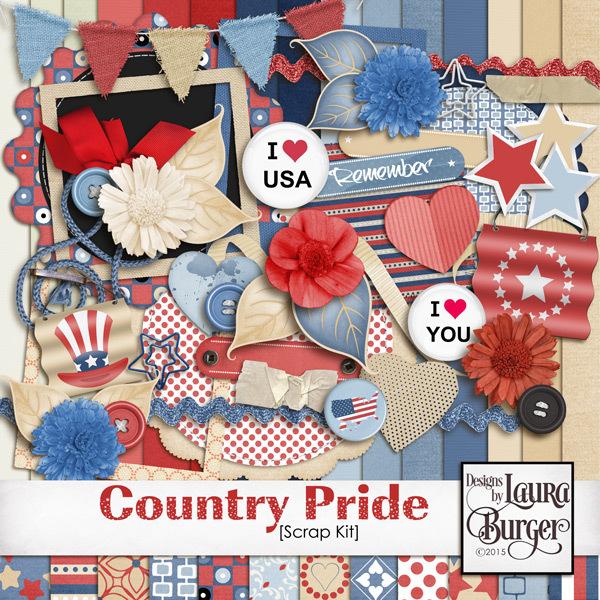 Country Pride Scrap Kit