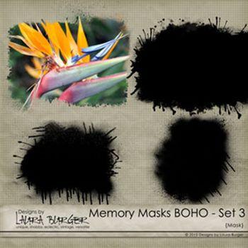 Memory Mask Boho Set 3
