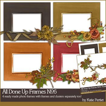 All Done Up Frames No. 06 Value Pack