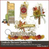 Gratitude Element Clusters No. 01