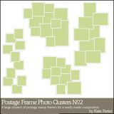Postage Frame Photo Clusters No. 02