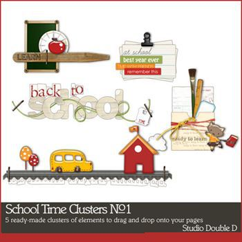 School Time Clusters No. 01