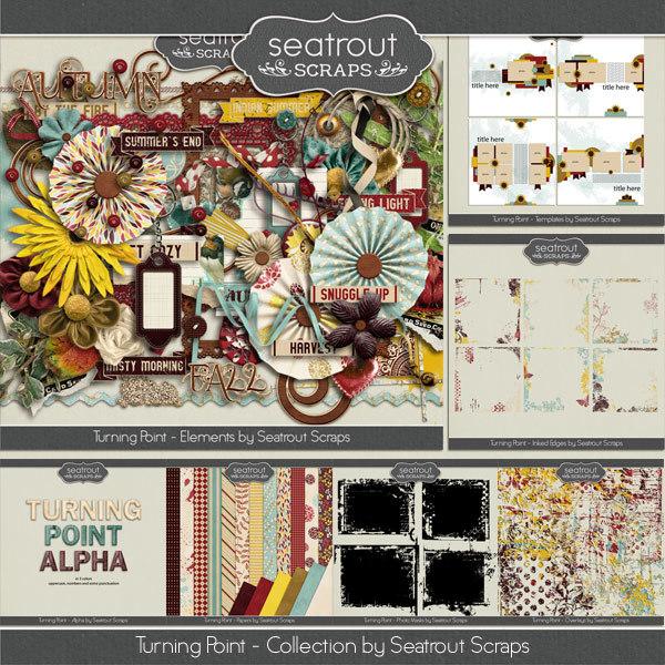 Turning Point Bundle Digital Art - Digital Scrapbooking Kits