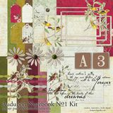 Audubon Notebook Kit No. 01