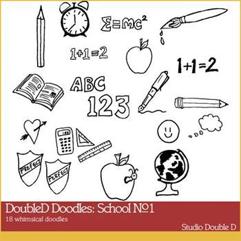 Doubled Doodles School No. 01