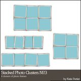 Stacked Photo Clusters No. 03