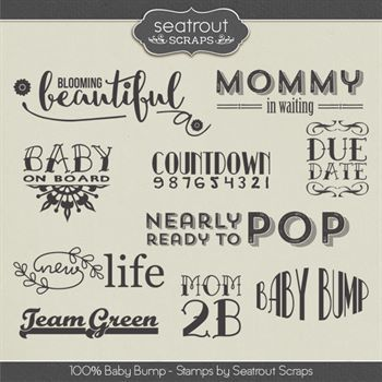 Baby Bump Stamps