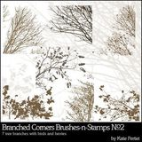Branched Corners Stamps No. 02