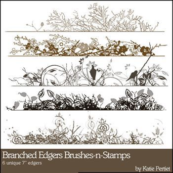 Branched Edgers Stamps