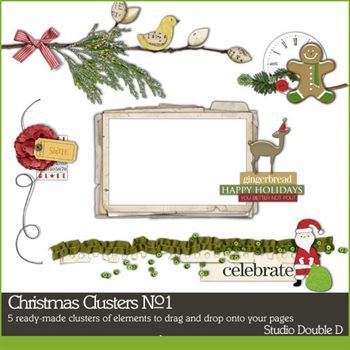 Christmas Clusters No. 01