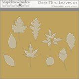 Clear Thru Leaves No. 01