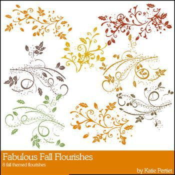 Fabulous Fall Flourishes Stamps