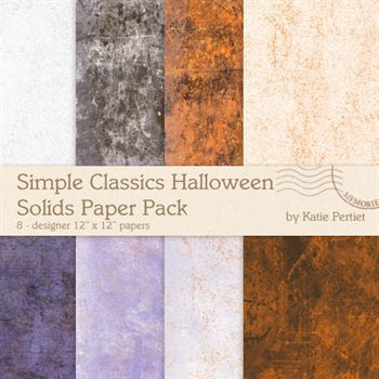 Simple Classics Halloween Solids Paper Pack