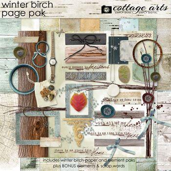 Winter Birch Page Pak