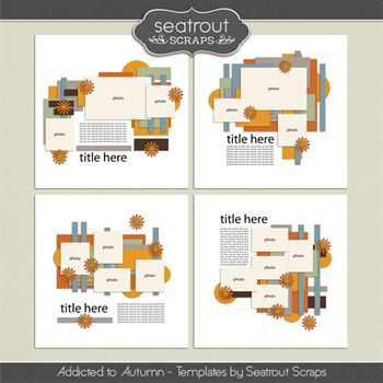Autumn Addiction Templates