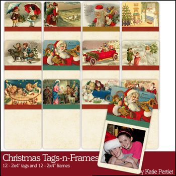 Christmas Tags And Frames