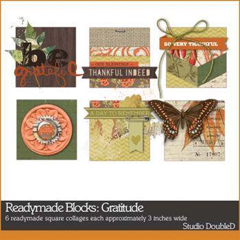 Readymade Blocks Gratitude