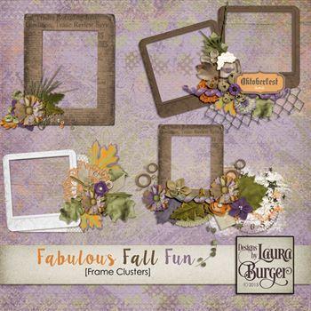 Fabulous Fall Fun Frame Clusters