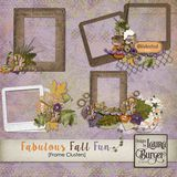 Fabulous Fall Fun Frame Clusters