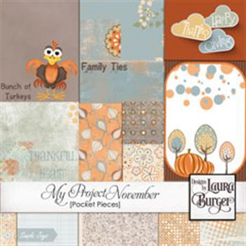 My Project November Pocket Pieces