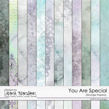 You Are Special Grunge Papers