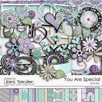 You Are Special Scrap Kit