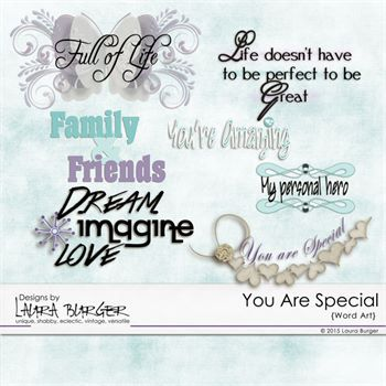 You Are Special Word Art