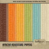African Adventure Papers