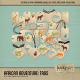 African Adventure Tags