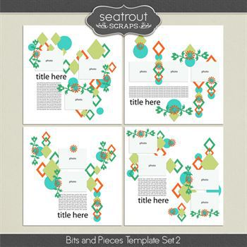 Bits And Pieces Template Set 2