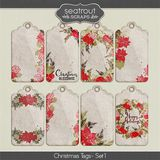 Christmas Tags Set 1