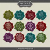Christmas Wax Seals