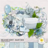 Heaven Sent - Baby Boy Mini Kit