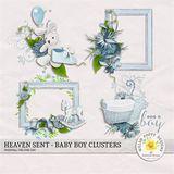 Heaven Sent Baby Boy Clusters