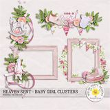 Heaven Sent Baby Girl Clusters