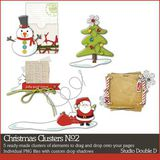 Christmas Clusters No. 02