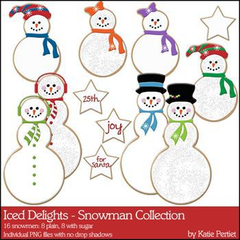 Iced Delights Snowmen Collection