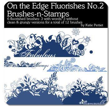 On The Edge Flourishes No. 02