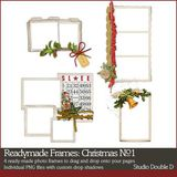 Readymade Frames Christmas No. 01