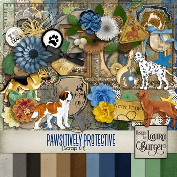 Pawsitively Protective Scrap Kit